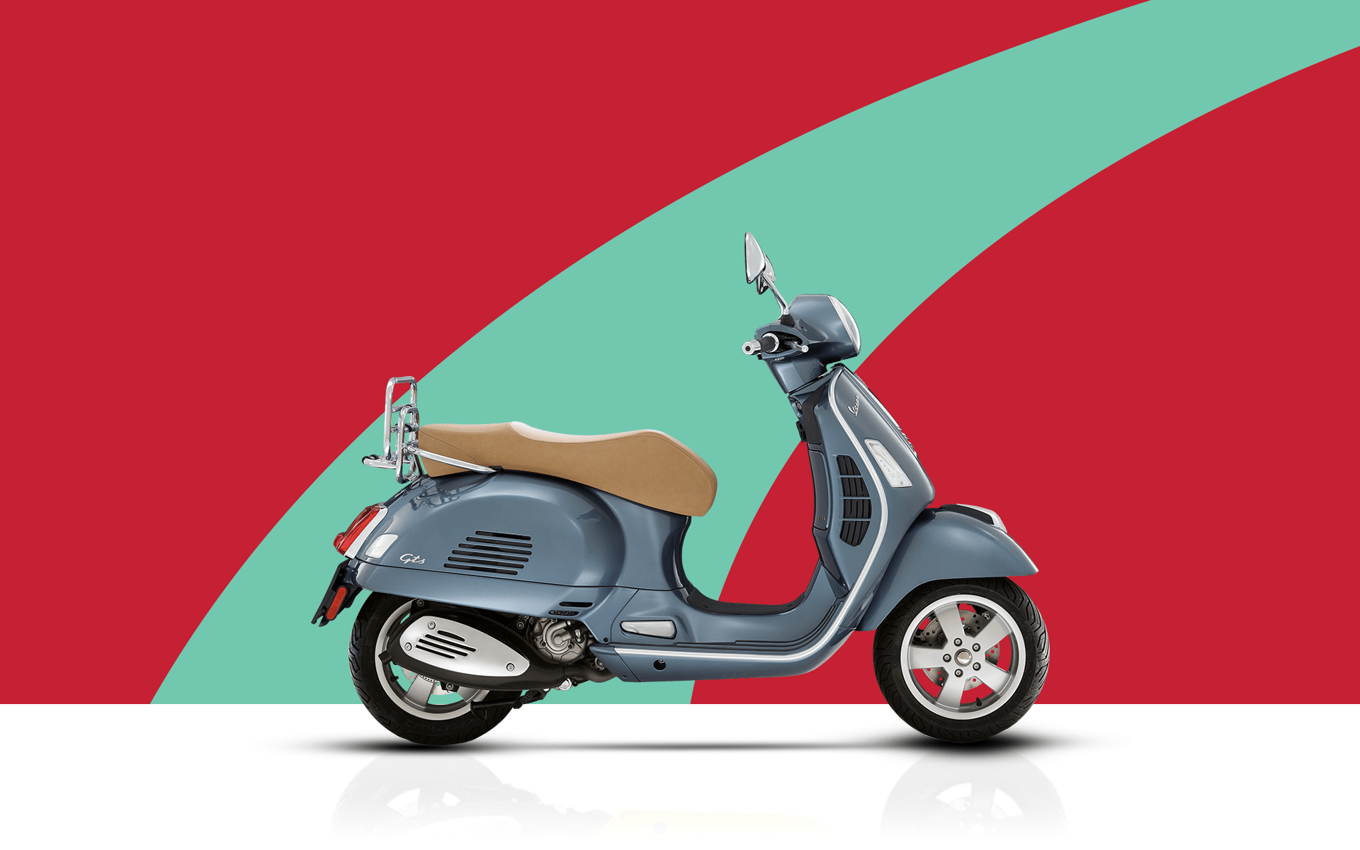 Vespa goes (RED) to support battle against Aids